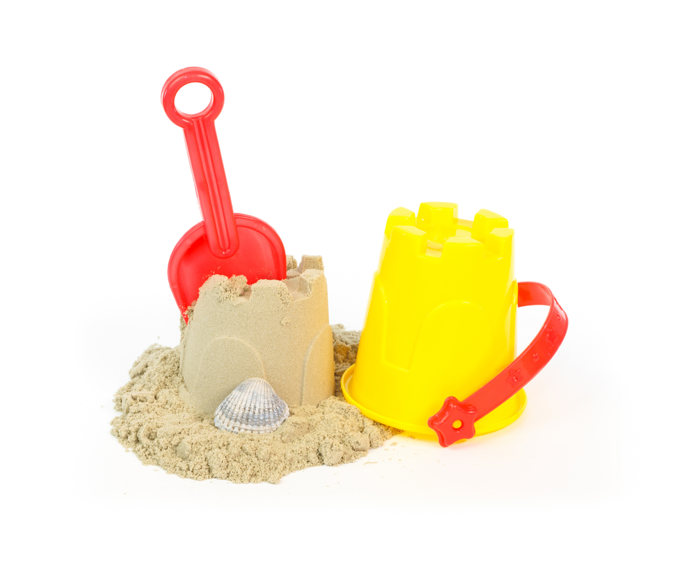 砂遊びや水遊びができる「サンドボックス」