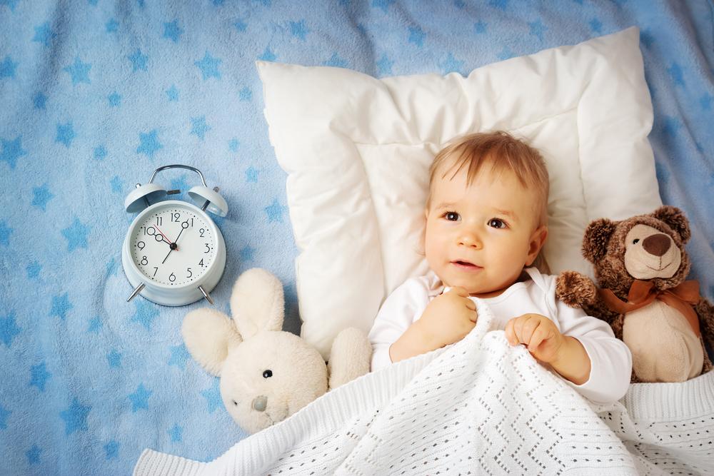 赤ちゃんの生活リズムはいつ頃身に付く?