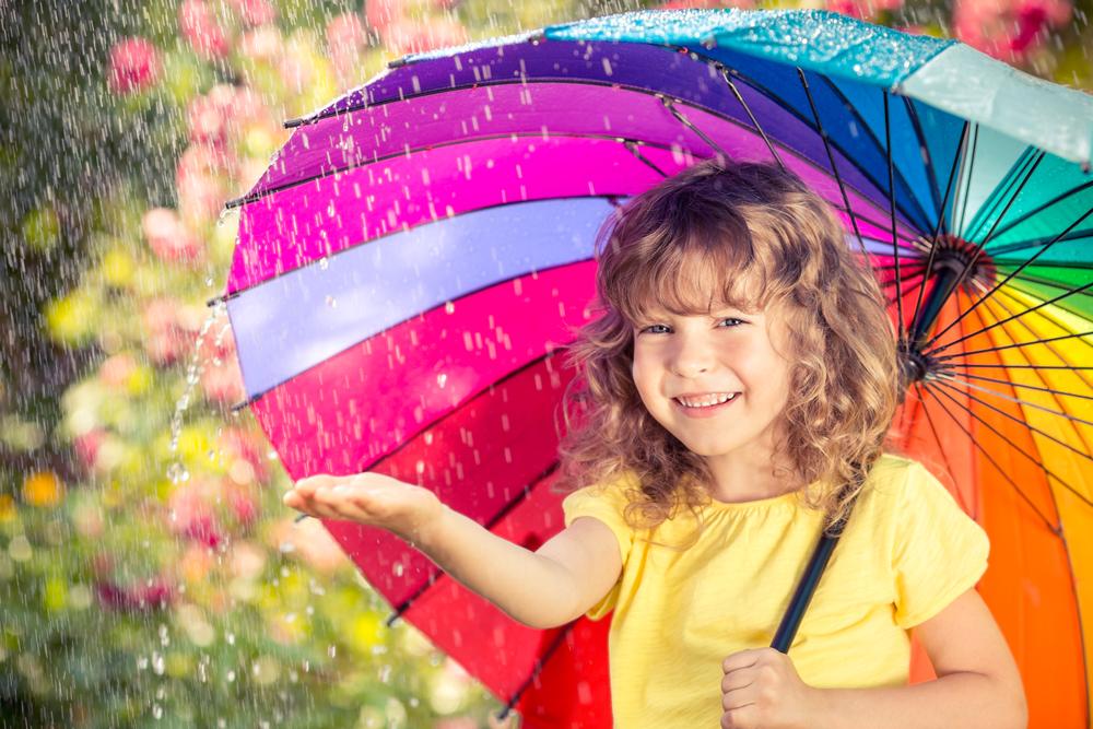 幼児英語学習にオススメ!毎日の天気を英語で言ってみよう!?