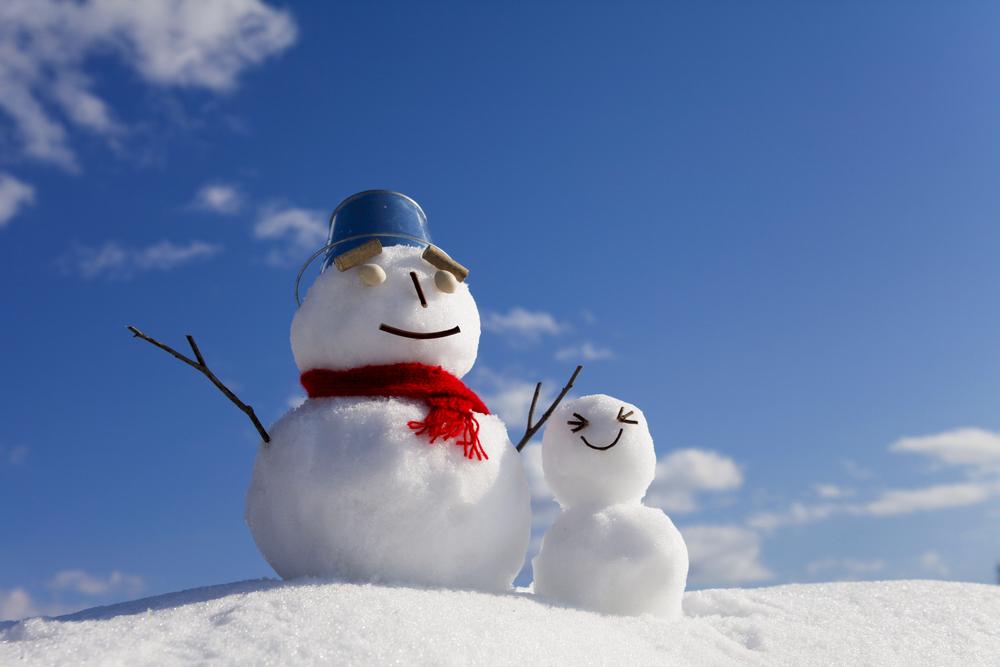 雪のときの英語のフレーズ2つ