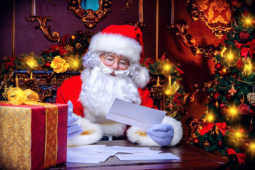 サンタクロースへのクリスマスメッセージの例文