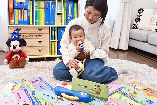 赤ちゃんの英語教材として最適な「ディズニー英語システム(DWE)」