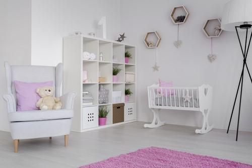 「リビングに赤ちゃん専用のスペースを作った」