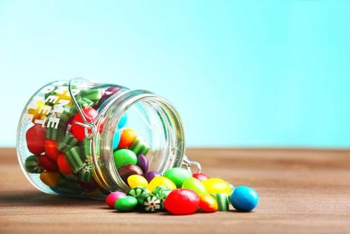 キャンディー掴み取りゲーム