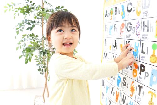 アルファベット学習にはポスターがオススメ