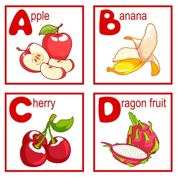 英単語と一緒にアルファベットを学ぼう