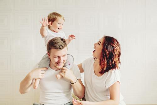 乳幼児期から親子で英会話の練習を