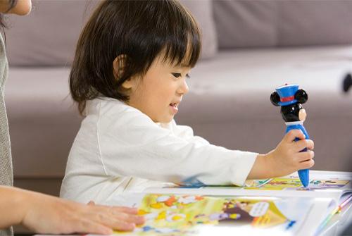 子供の考える力を刺激する質問形式の教材