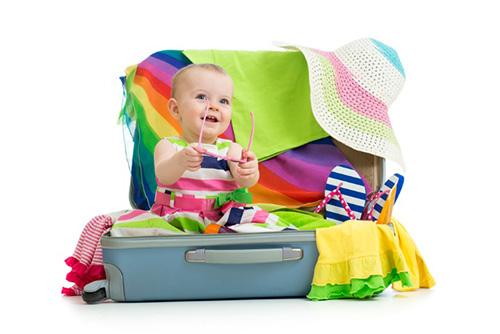 旅行に必要な赤ちゃんの持ち物は?