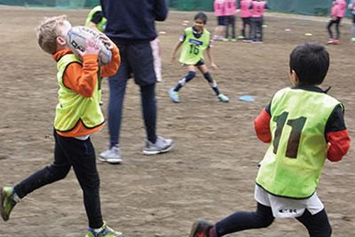 英語でラグビー教室~スポーツを通して英語と国際交流を学ぶ~