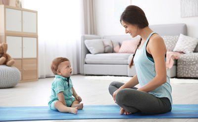 産後ケアで妊娠前よりキレイに!体型を戻すための簡単エクササイズをご紹介!