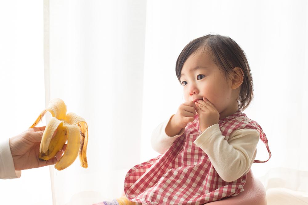 「バナナ」を使った離乳食!進め方や栄養素、アレルギー、便利なレシピをご紹介!【管理栄養士監修】