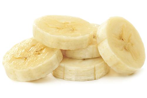 離乳食のバナナの加熱法