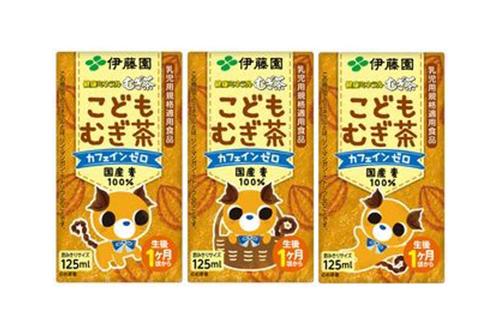 健康ミネラル麦茶 こどもむぎ茶 紙パック/伊藤園