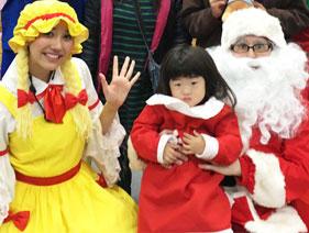 クリスマスイベントで感じた娘の成長の記事画像