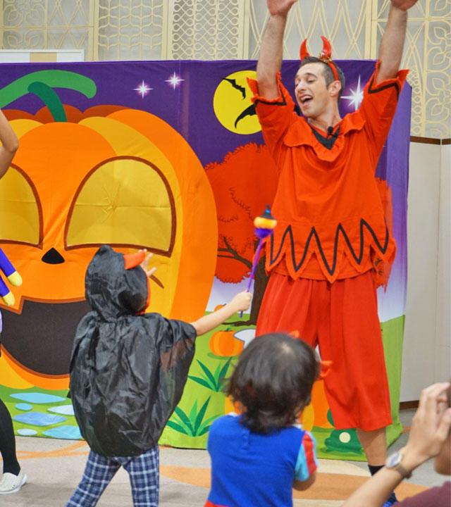 息子の4歳のバースデー&ハロウィン・パーティー02