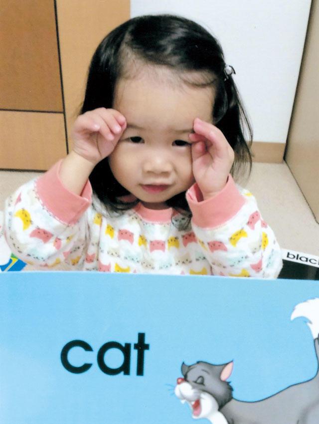 大好きな「cat」のカード
