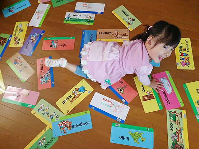 ディズニー英語システムを始めてよかったことは、親子で一緒に楽しみながら自分たちのペースですすめられること。.jpg