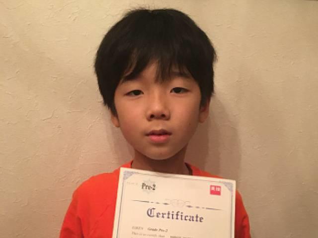 【英検(R)準2級に合格】小さい頃からDWEにふれていたためか、英語のやりとりを知らないうちに覚えていました
