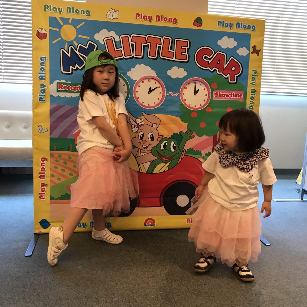 1歳児と週末イベントの画像