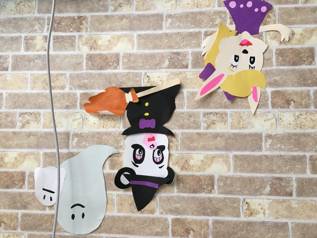 お家の装飾をハロウィン仕様に。の画像