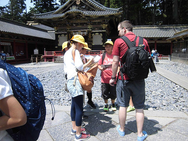 目指すは日光での外国人観光客インタビュー7