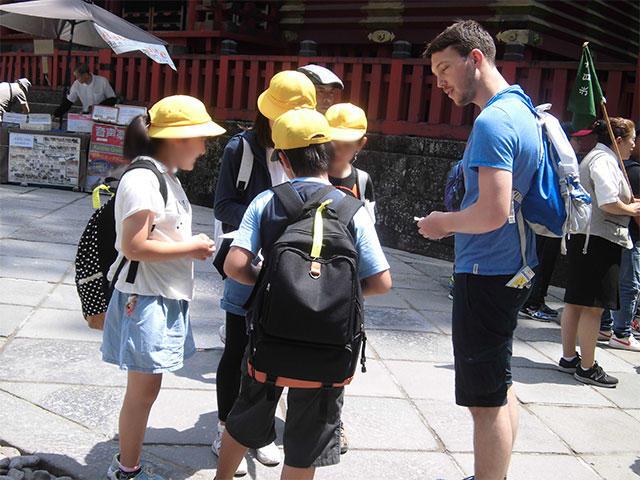 目指すは日光での外国人観光客インタビュー8