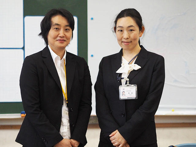 三浦先生と奥田主事