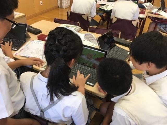 Q1. 「マインクラフト」を活用した英語の授業とは、どのような内容ですか?