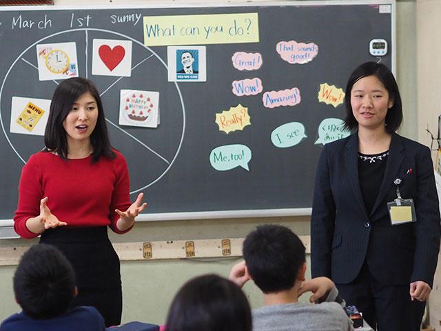 三木小学校英語授業1