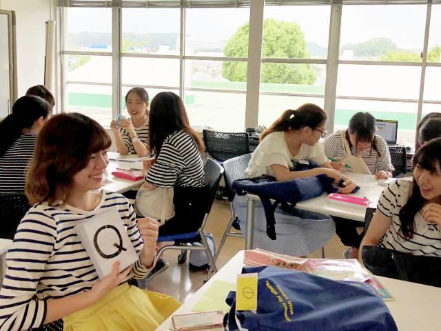 学生がアイデアを出し合って作る、オリジナルのレッスン