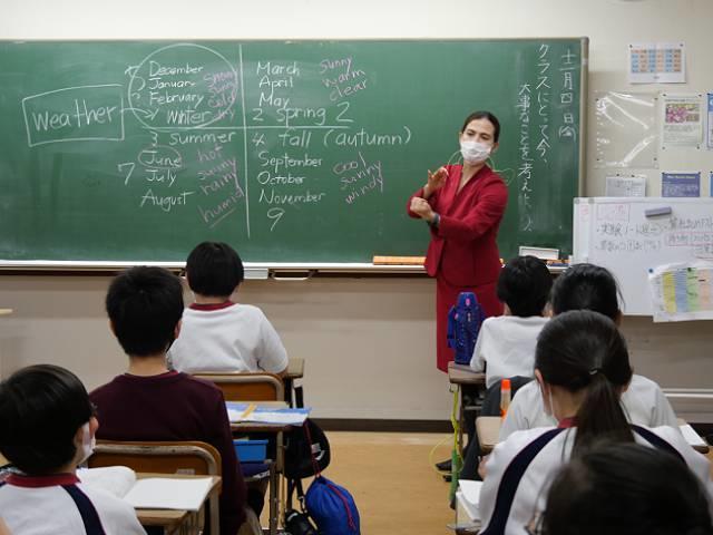 Q2. 小学1年生から取り組んでいる英語の授業内容について教えてください。