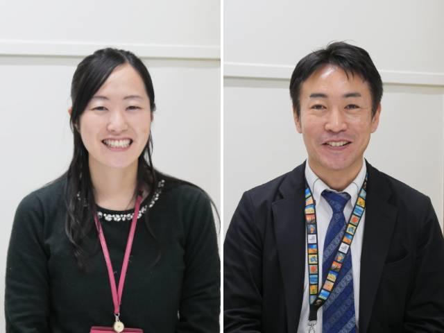 遠藤崇之先生、加藤千尋先生