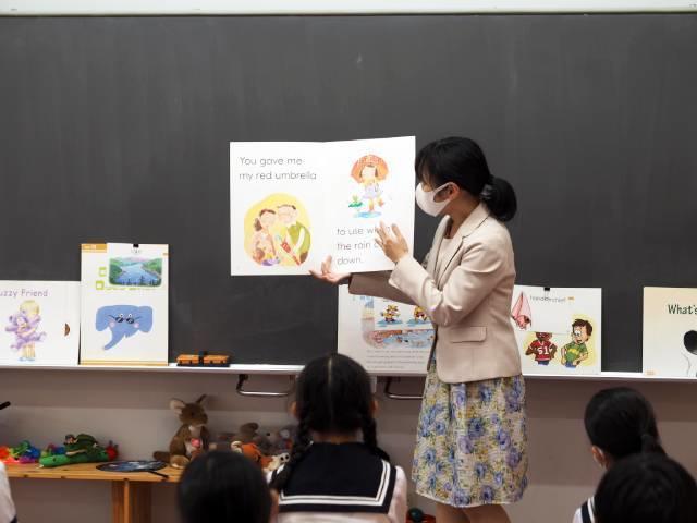 Q1. 英語の授業はどのように行われていますか?