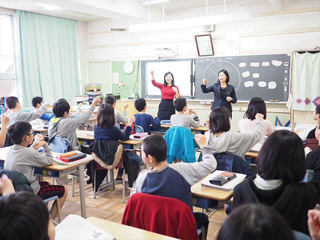 三木小学校英語授業4