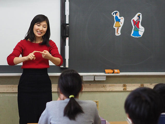 三木小学校英語授業3